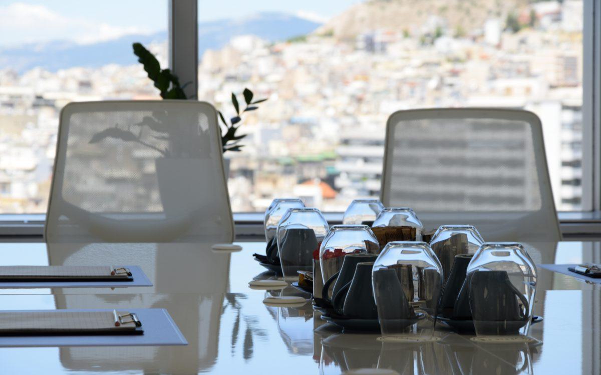 Πύργος των Αθηνών: Γραφείο με θέα και κύρος